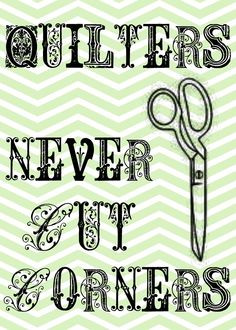 quilters...free printable More