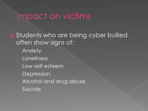 Cyber Bullying Quotes From Victims Impact on victims