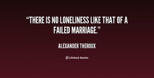 Failed Marriage Quotes