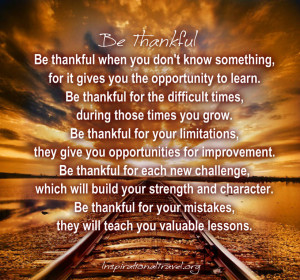 Being Thankful Quotes Quotes About Being Thankful Sayings About