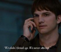 ashton kutcher, movie, movie quotes