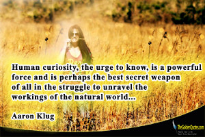 Read More Quotes From Aaron Klug