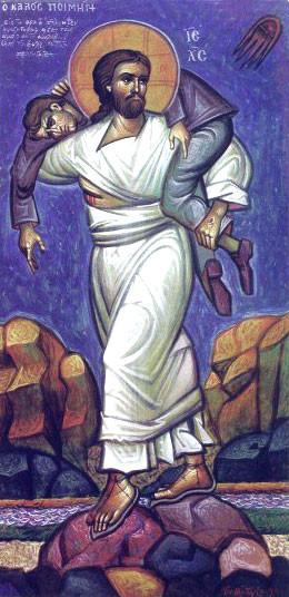 The Good Shepherd, by Ioannis-XarilaousVranos