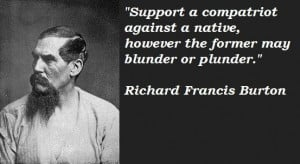 Richard francis burton quotes 1