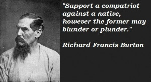 Richard francis burton quotes 1
