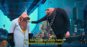 gru from despicable me 2