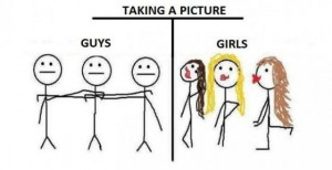 Funny Differences Between Male And Female (14 pics)