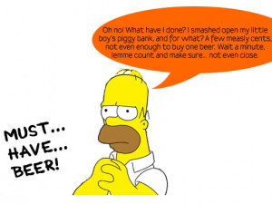 Homer Simpson Quotes Beer picture