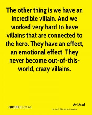 Avi Arad Quotes