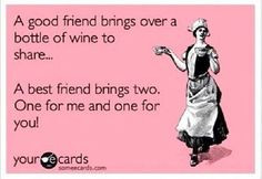 Wine Quotes Friends ~ Amazon.com - Friends are like wine....Wall ...