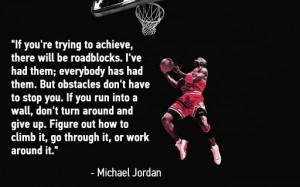 Michael Jordan Quotes About Hard Work