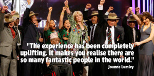 Joanna Lumley quote