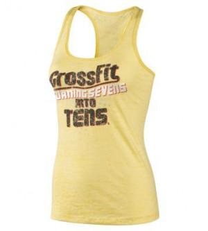 Reebok Women's Reebok CrossFit Her Coach Quote Sevens Tank Tank Tops ...