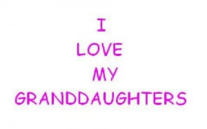 Love my Granddaughters