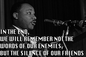 Inspirational Words - Martin Luther King, Jr.