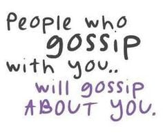 Quotes About People Who Gossip
