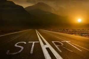 """journey of a thousand miles must begin with a single step.""""–Lao ..."""