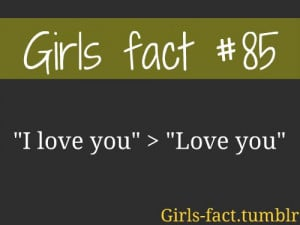 girls #love #facts #woman