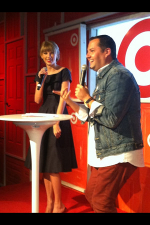 Ross Mathews & Taylor Swift