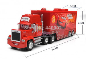 cars 2 mack chick hauler thai pixar car lightning hick truck toy car