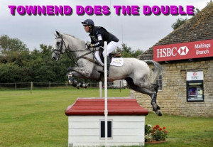 Horse Show Jumping Quotes Burghley horse trials
