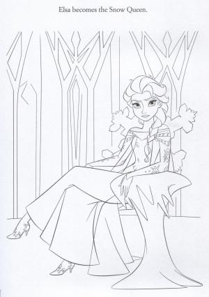 Frozen Official Frozen Illustrations (Coloring Pages)