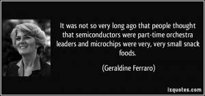 It was not so very long ago that people thought that semiconductors ...