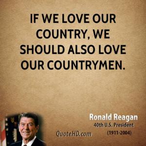 President Quote Love...