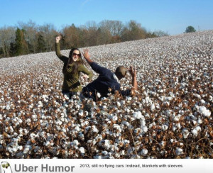 My Kenyan husband sees a cotton field for the first time. Insists we ...