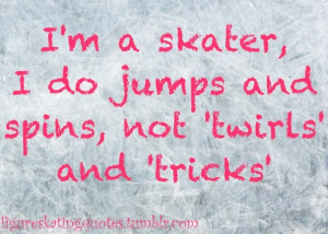Ice Skating Funny Quotes