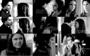 Wide Love Couples Damon And Elena Wallpaper With Resolutions 2560 ...