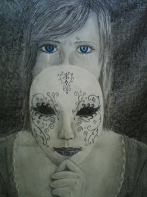 Hiding behind a Mask by Elevarta