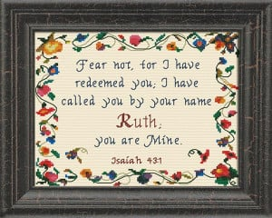 Name Blessings - Ruth