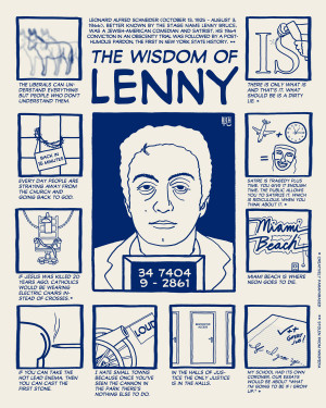 Lenny Bruce Quotes The quotes of lenny bruce