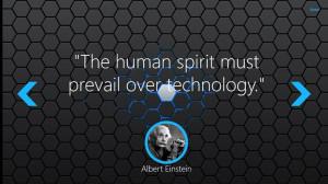 Keen Quotes: Technology screen shot 1