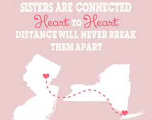 Gift for Sister, Best Friend, Family - 8x10 Art Print, Custom ...