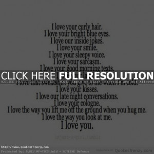 love Quotes cute sweet adorable him boyfriend relationships ...