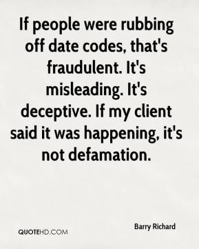 Deceptive Quotes