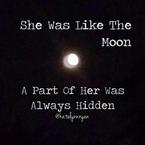 quotes #moon #women @Katelyn Nelson Ryan