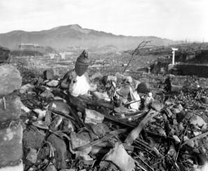 World War II Photo: Nagasaki Damage
