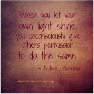 Let it shine ♡