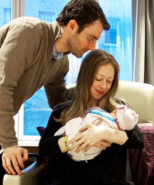 Bits Of Knowledge Chelsea Clinton Can Give To Baby Charlotte