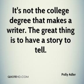 College degree Quotes