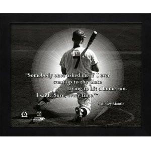 Quotes New York Yankees ~ Amazon.com : Mickey Mantle New York Yankees ...