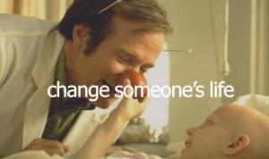 change someone's life.