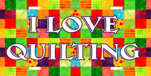 love quilting License Plate, I love quilting License Tag