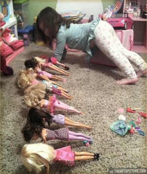 Barbie Bootcamp…