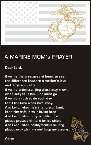 Marine Prayer Quotes. QuotesGram