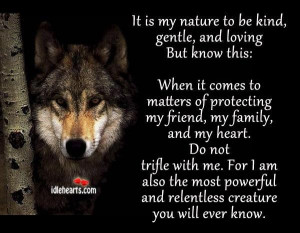Wolf poem by AuroraHuskie