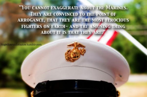 Marine Corps. I miss my son! He might be a bad ass to the world, but ...